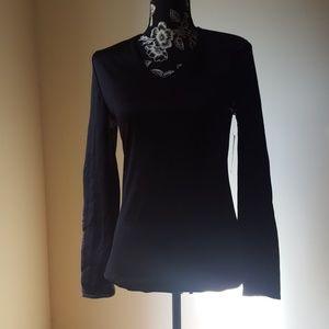 Covington♥️ Black Long Sleeve Top